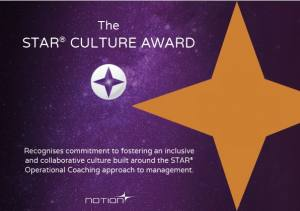 Notion Launches STAR® Culture Award