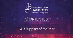 Notion Shortlisted for L&D Supplier of the Year Award 2021