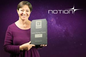 CONGRATULATIONS! 2018 Top 50 Coach Award Presented To Laura Ashley-Timms and Notion by CV Magazine